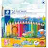 Staedtler Aquarell Noris Watercolour Pencils Assorted Pack of 24