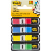 Post-It 683-4 Mini Flags 12x43mm Primary Colours Assorted Pack of 140