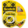 Scotch 136 Double Sided Tape 12.7mmx6.3m & Dispenser