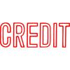 XStamper Stamp CX-BN 1019 Credit Red