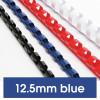 Rexel Plastic Binding Comb 12mm 95 Sheet Capacity Blue Pack of 100