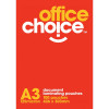 Office Choice Laminating Pouches A3 125 micron Pack of 100
