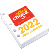 Office Choice Desk Calendar Side Opening Refill 100x75mm