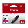 CANON INK CARTRIDGE CLI-651XL Magenta