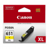 CANON INK CARTRIDGE CLI-651XL Yellow