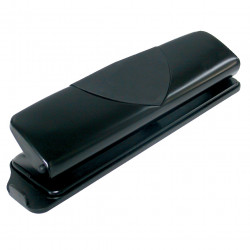 Marbig 4 Hole Punch Metal 8 Sheet Capacity Black