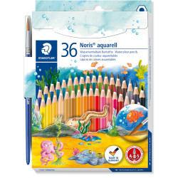 Staedtler Aquarell Noris Watercolour Pencils Assorted Pack of 36