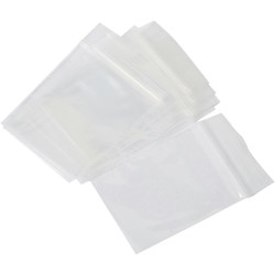 Cumberland Press Seal Plastic Bags 230 x 305mm 50 Micron Pack of 100