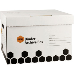 Marbig Archive Box Binder L460mm x H330mm X W320Mm