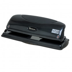 Rexel Fixed 4 Hole Punch 25 Sheet Capacity Black