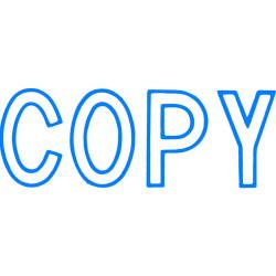 XStamper Stamp CX-BN 1006 Copy Blue