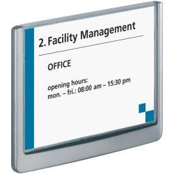 Durable Click Sign Door Sign 149x105.5mm Grey