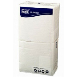 Tork Luncheon Napkins 1 Ply 200 Sheets White Pack of 250