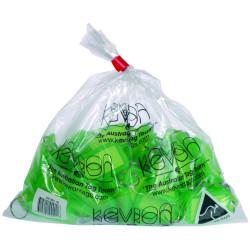 Kevron Key Tags Id5 56x30mm Green Pack Of 50