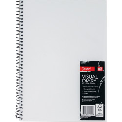 Jasart Visual Diary A4 Clear Cover 110gsm 120 Page