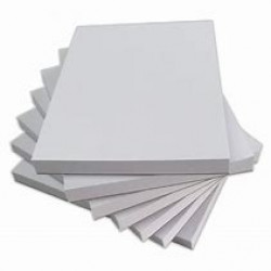 NOTE PAD A5 50 SHEETS PANTHER 80GSM WHITE BLANK