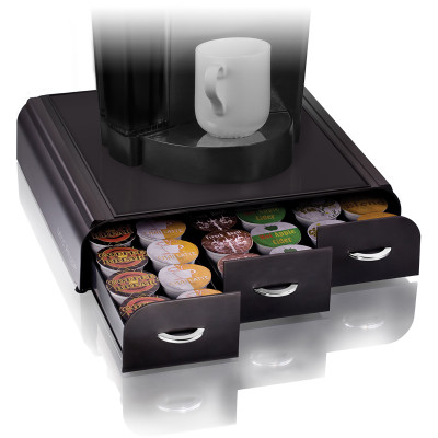 Esselte Anchor Coffee Pod Drawer 36 Pod Capacity Black