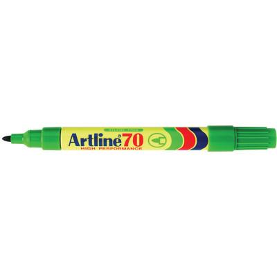 Artline 70 Permanent Marker Bullet 1.5mm Green