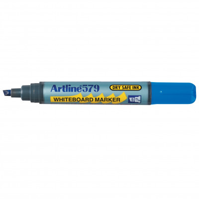Artline 579 Whiteboard Marker Chisel 2-5mm Blue