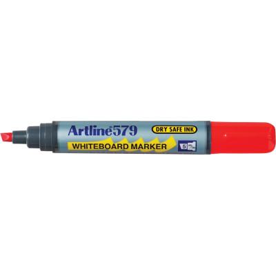 Artline 579 Whiteboard Marker Chisel 2-5mm Red